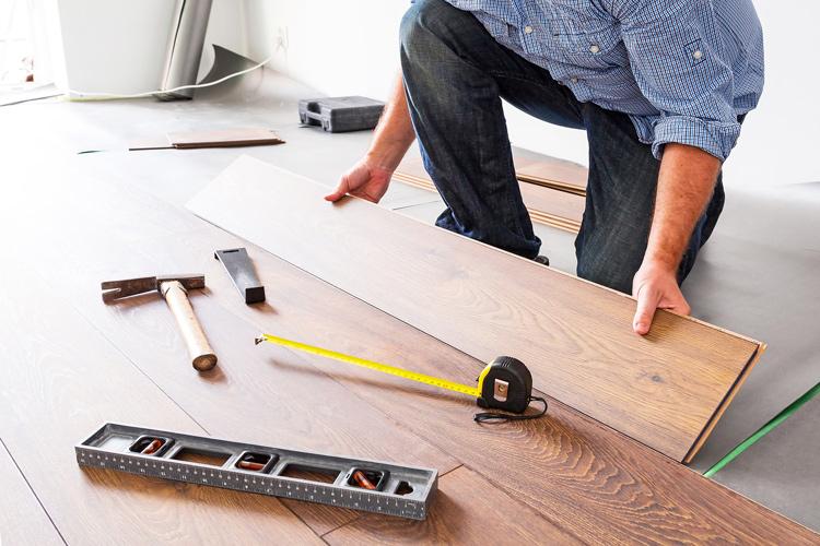 grindų įrengimas